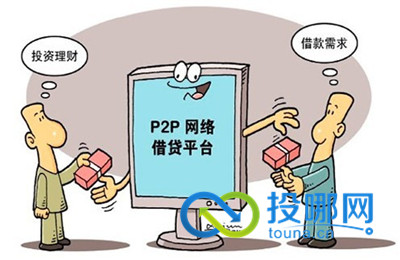 p2p公司组织结构图